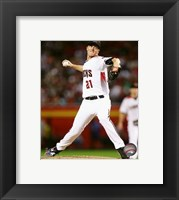 Framed Zack Greinke 2016 Action