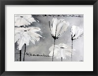 Framed White Flowers