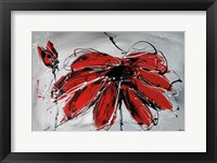 Framed Fleur de Coeur