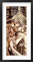 Framed Buddha Panel III