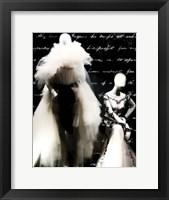 Framed Black and White Soiree