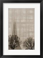 Framed Eiffel in the Fog