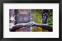Framed Hands of Pere