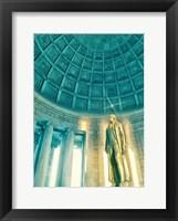 Framed Jefferson Memorial 2