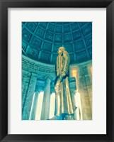 Framed Jefferson Memorial 3