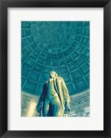 Framed Jefferson Memorial 6