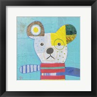 Framed Dog I