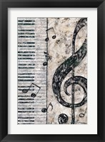 Framed Symphony in Piano