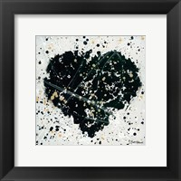 Framed Emotions Scenes Black Heart