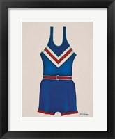 Framed Blue Uniform