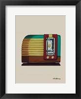 Framed Old Fashion Radio