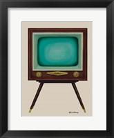 Framed TV Set