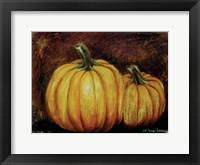 Framed Pumpkin Harvest