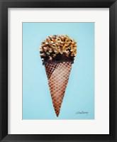 Framed Nutty Ice Cream Cone