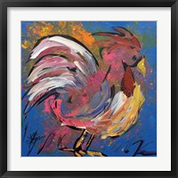 Framed Funky Chicken