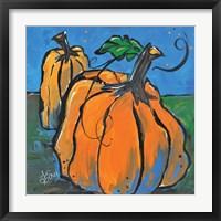 Framed Pumpkins at Twilight