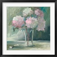 Framed Pink Peonies