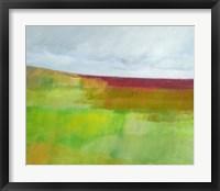 Framed Dorset Green and Red