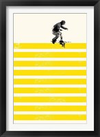 Framed Slide in Stripes