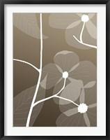 Framed Floral Silhouette 1