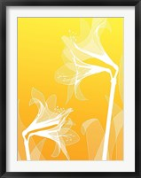 Framed Floral Silhouette 3