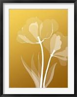 Framed Floral Silhouette 6