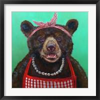 Framed Mama Bear