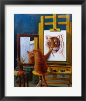 Framed Norman Catwell