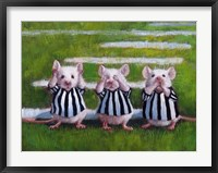 Framed Three Blind Mice