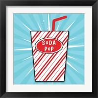 Framed Soda Pop