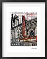 Framed Chicago Theatre