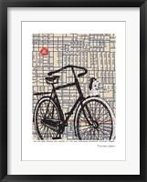 Framed Bicycle on Hawthorne Portland