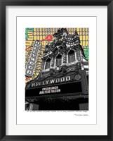 Framed Hollywood Theatre Portland