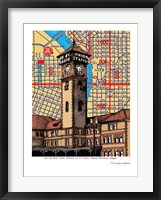 Framed Union Station Portland