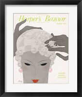 Framed Harper's Bazaar March 1932