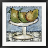 Framed Three Pears
