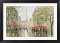 Framed Impression of Paris
