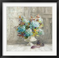 Framed Rustic Florals