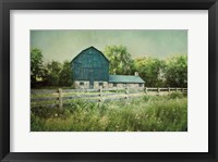 Framed Blissful Country III