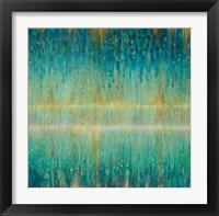 Framed Rain Abstract I