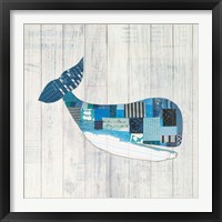 Framed Wind and Waves II Nautical