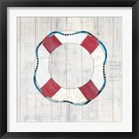 Framed Wind and Waves III Nautical