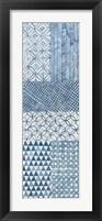 Maki Tile Panel I Framed Print