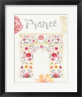 Framed Paris Blooms II