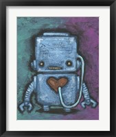 Framed Weebot-Heart