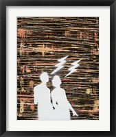 Framed Couple Silhouette