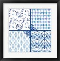 Framed Blue Patterns