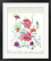 Framed Sophisticated Flowers II