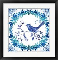 Framed Winter Tales Bird