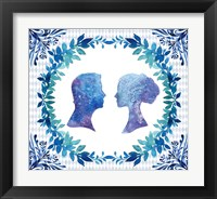 Framed Winter Tales Couple